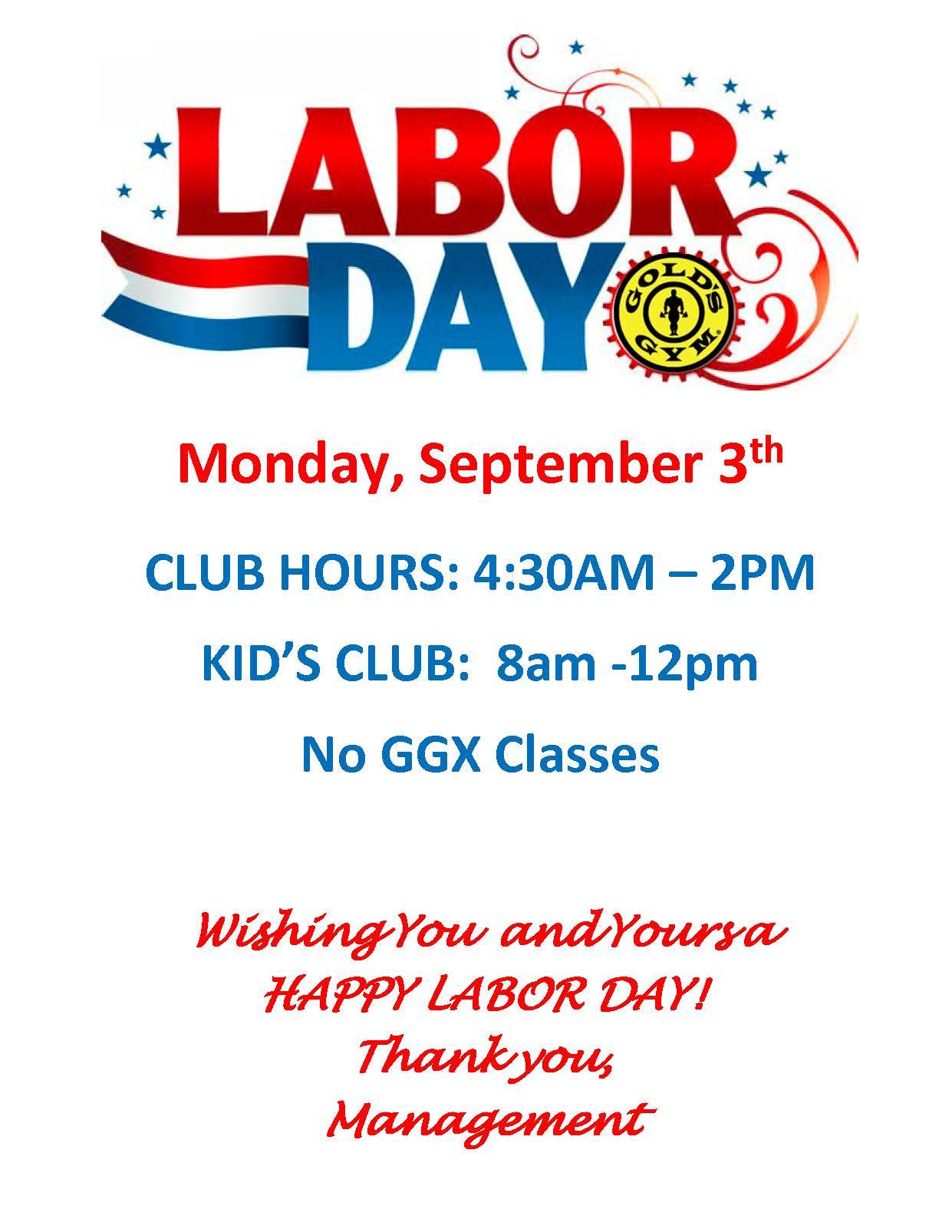 Gold S Gym Albemarle Labor Day Schedule Albemarle