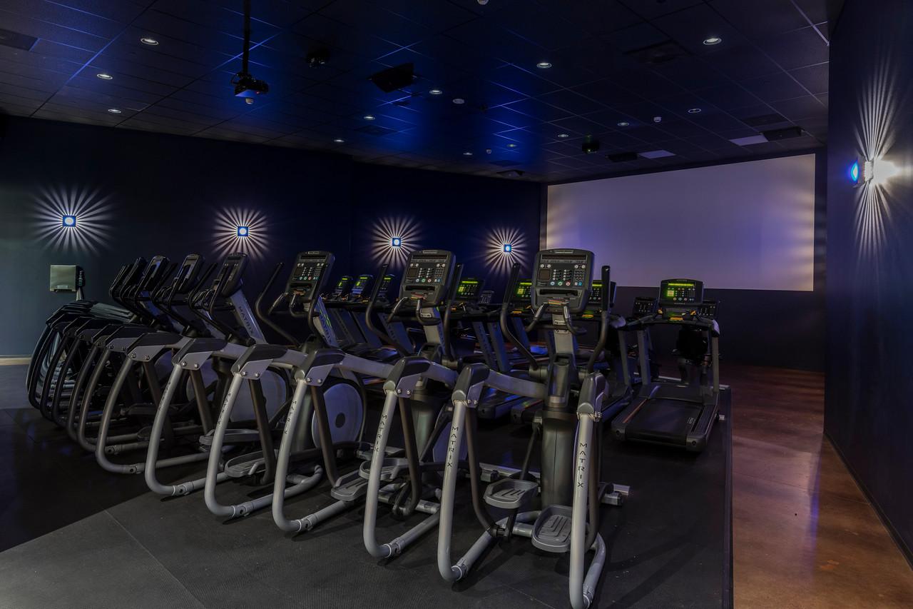 arcadia gym cardio theater