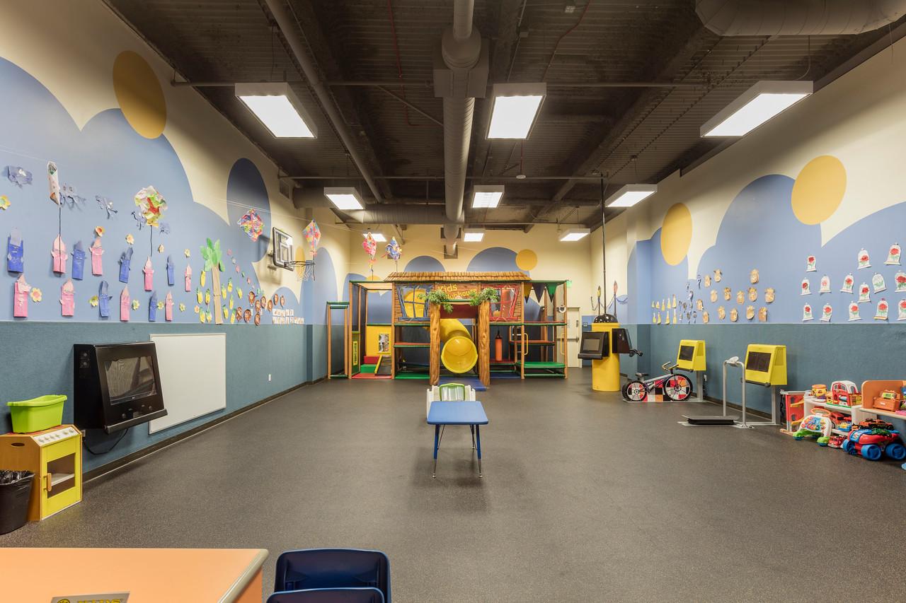 childcare center at arcadia gym
