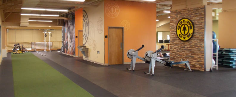 Golds gym bloomington located at 11 currency drive bloomington il