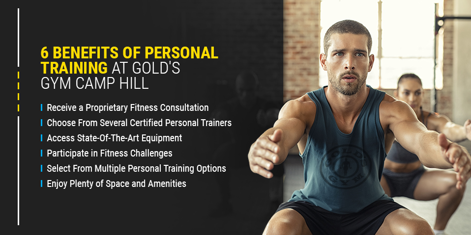 6 Benefits of Personal Training at Golds Gym Camp Hill