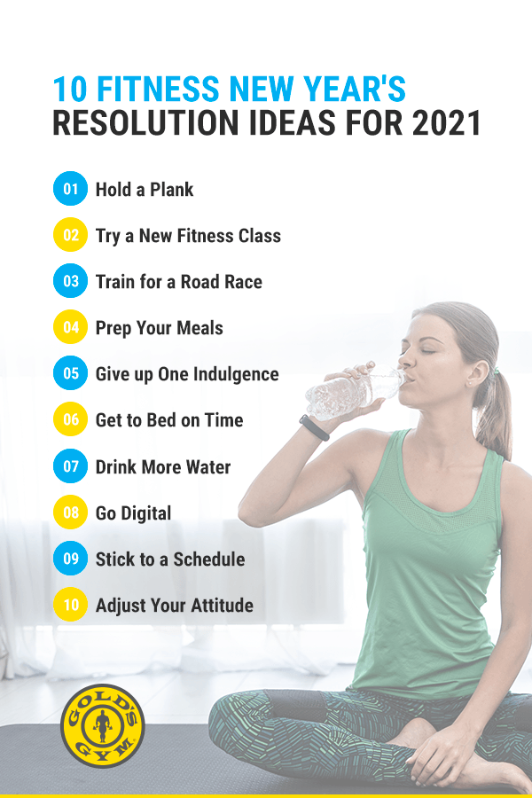 10 Fitness New Years Resolution Ideas for 2021