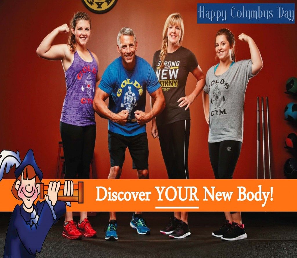 Gold's Gym Thank You