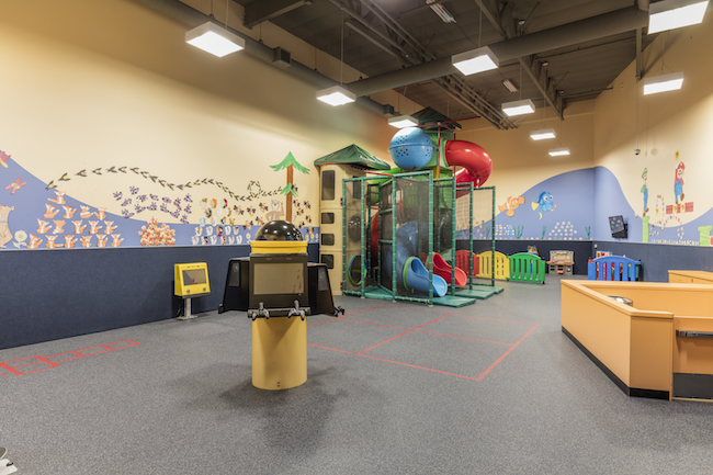 childcare area at gold's gym fullerton