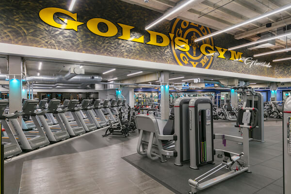 Golds gym glendale at galleria mall 3211 glendale galleria a