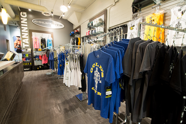 pro shop at gym in hollywood