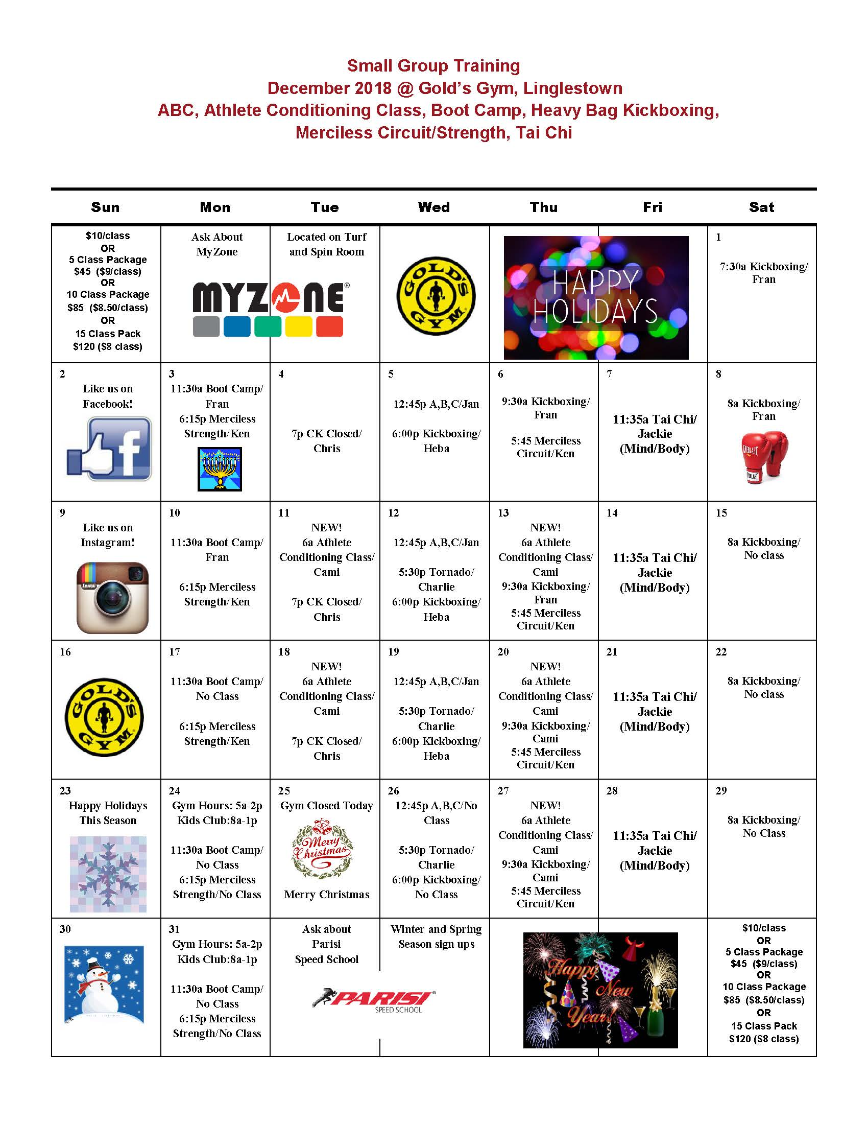 gold's gym linglestown | group exercise classes