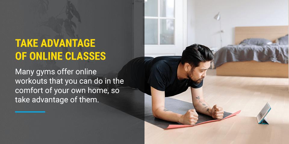 advantage of online classes