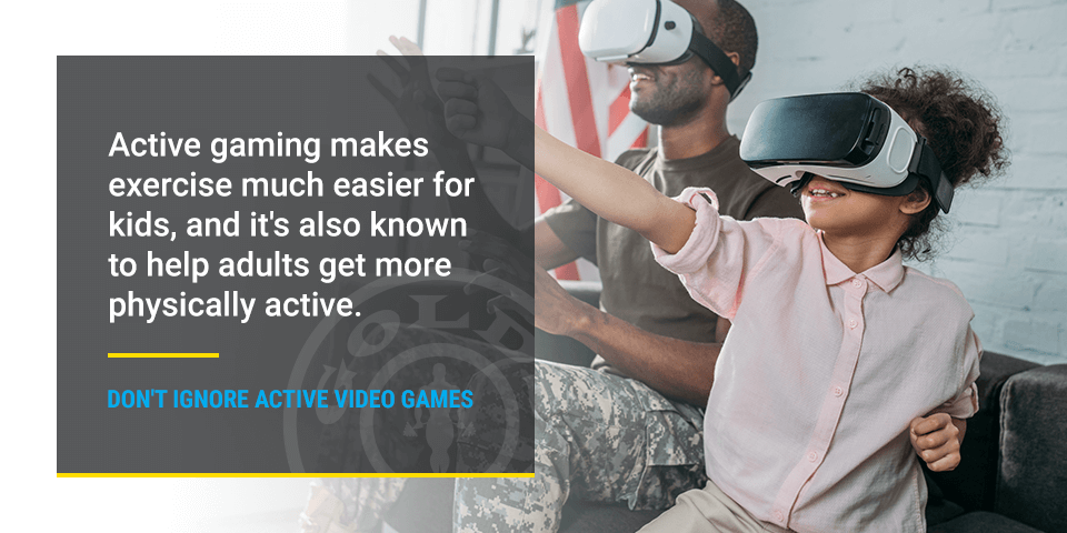 active video games