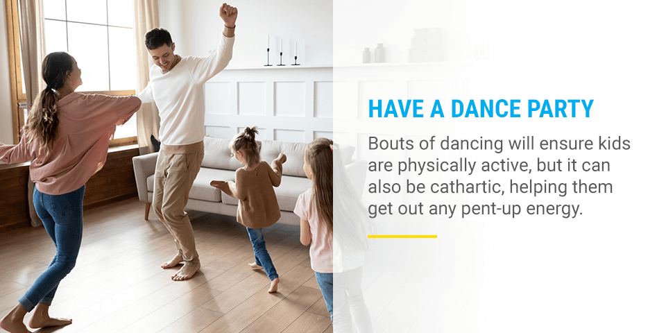 dance party with your family