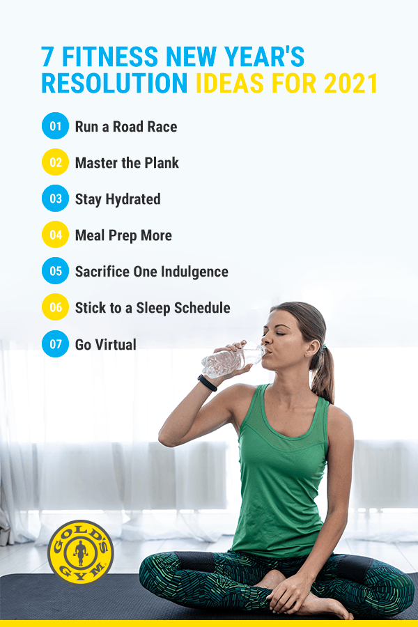 7 Fitness New Years Resolution Ideas for 2021