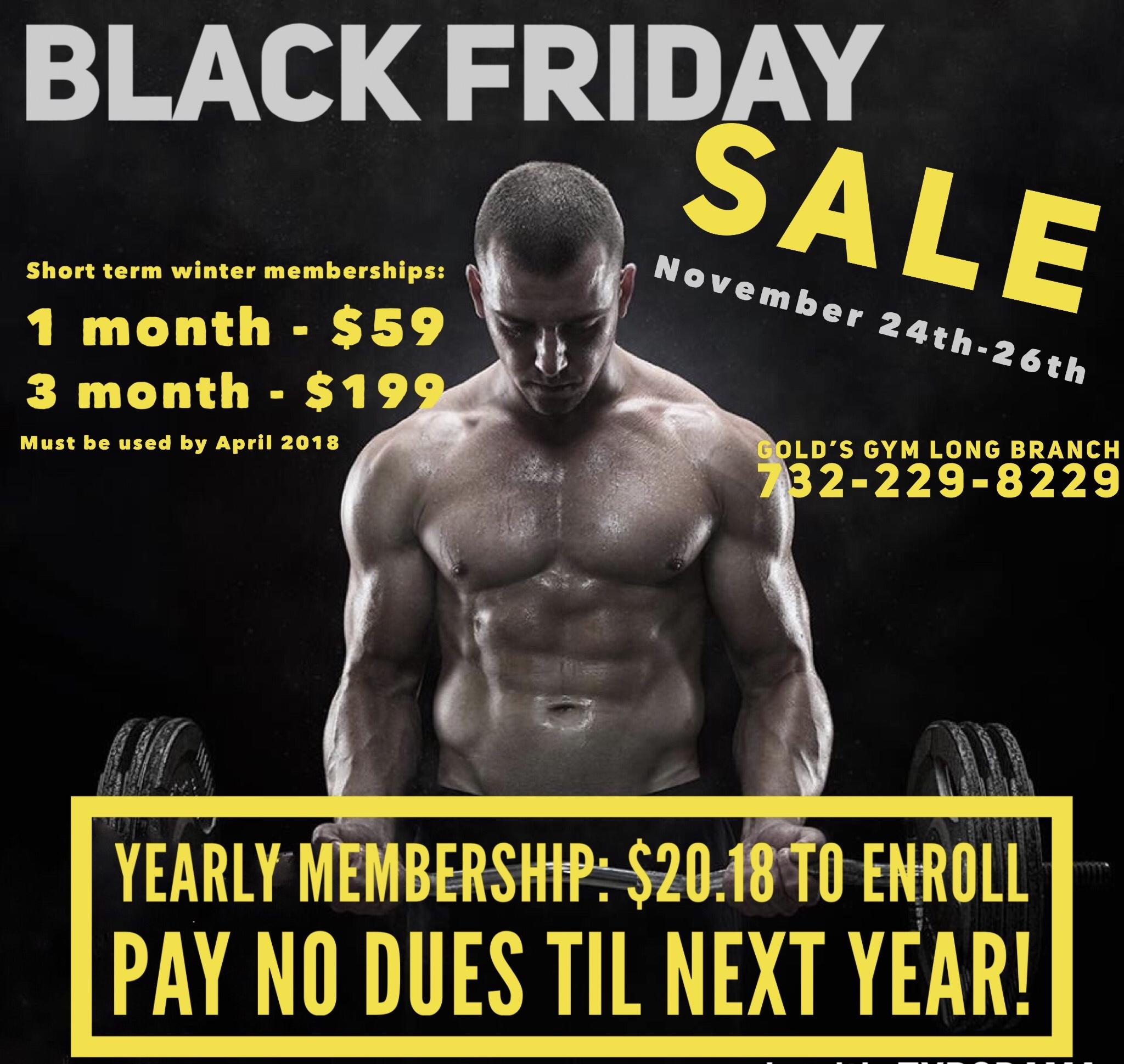 black friday membership sale long branch. Black Bedroom Furniture Sets. Home Design Ideas