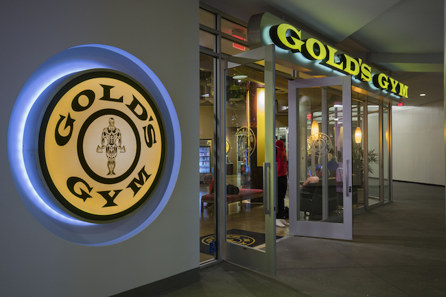 downtown la gym at fig at 7th mall golds gym