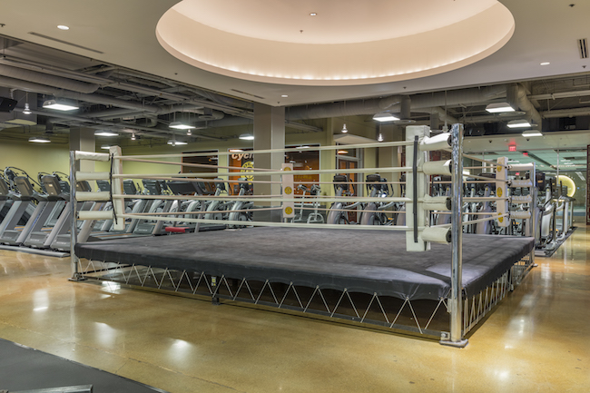 boxing ring at los angeles gym