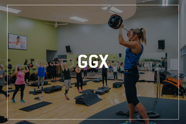 Gold's Gym GGX Group Classes