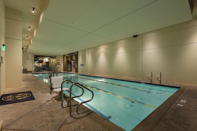 indoor pool at montclair gym