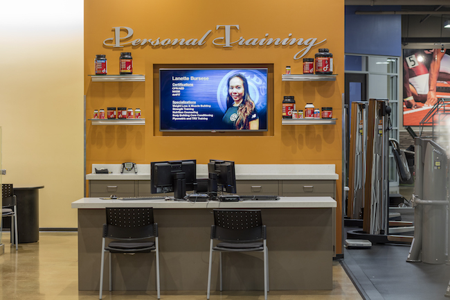 montclair gym personal training office