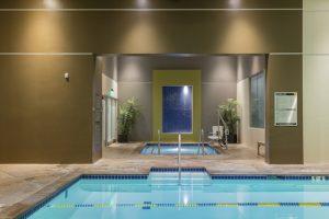 pool & hot tub at montclair gym