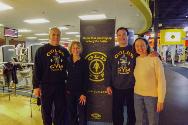 Gold's Gym Helps CUMAC Do Their Amazing Work! - Paramus