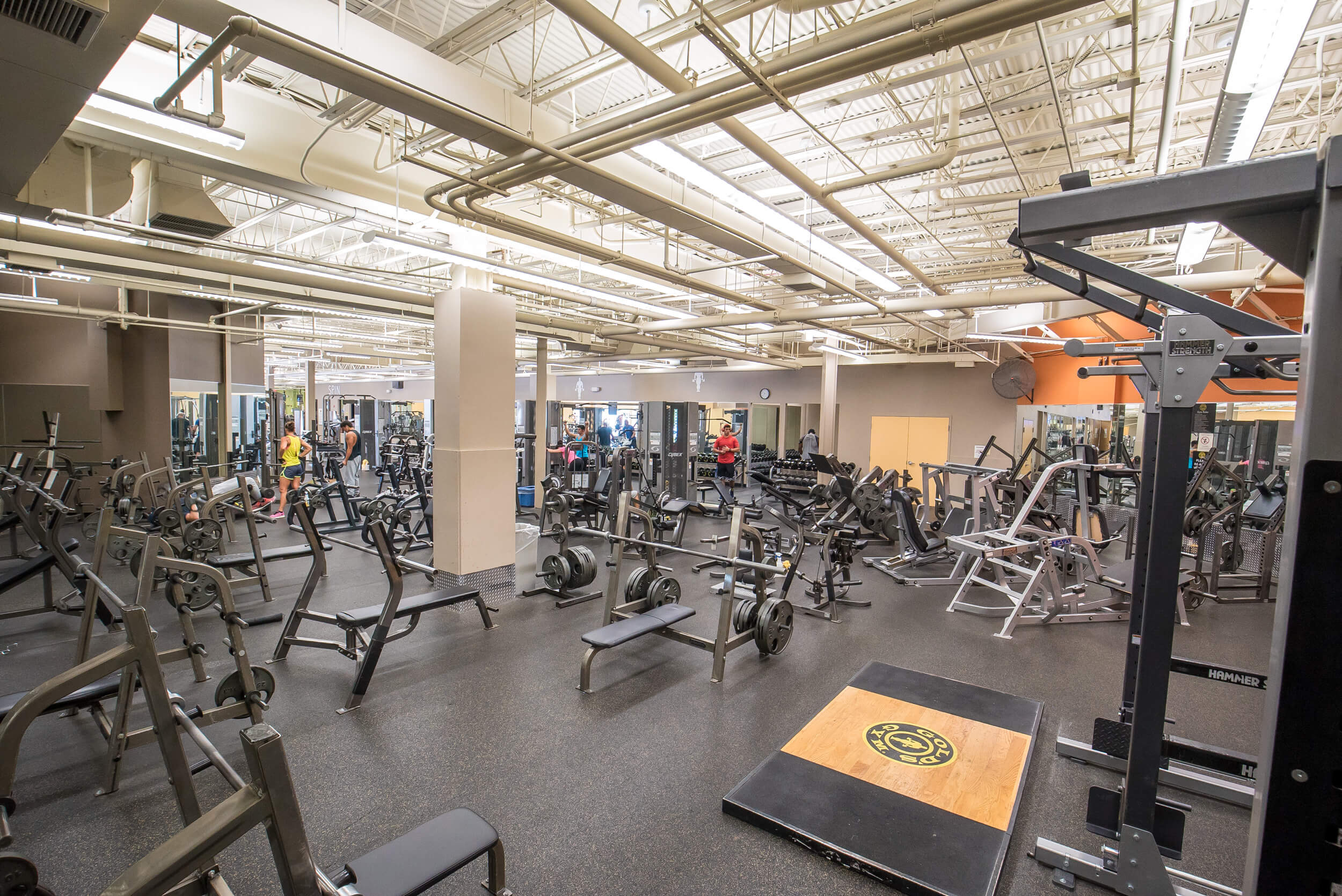 Gold's Gym Richmond located at 8904 West Broad Street