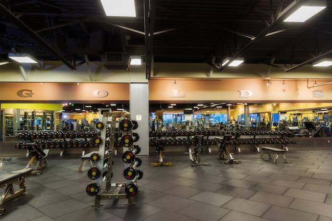 weightlifting area at santa ana gym