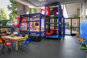santa barbara gym childcare area