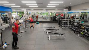santa barbara gym stretch area