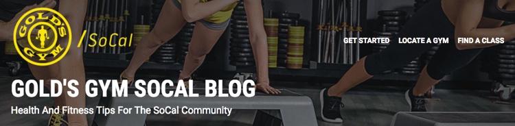 Gold's Gym Socal Blog
