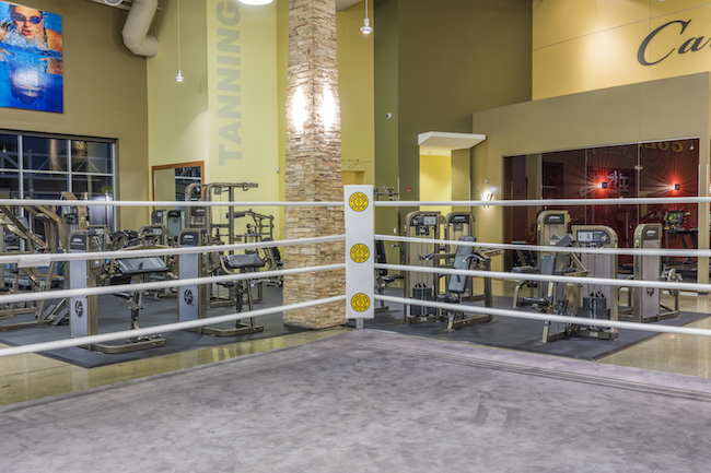 boxing ring at golds gym simi valley