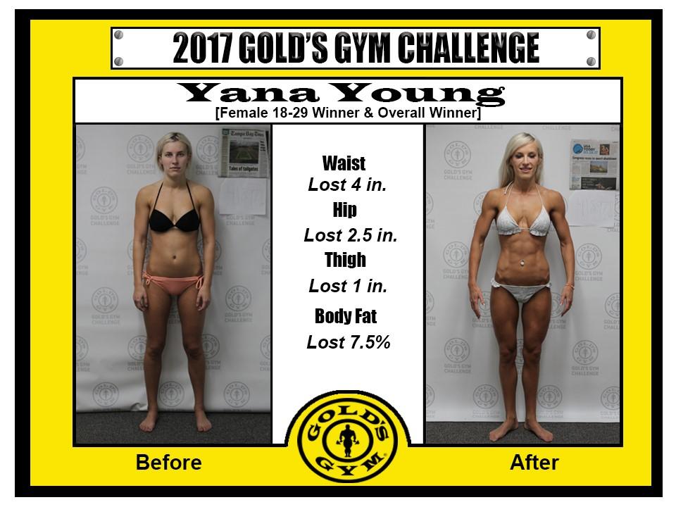 2017 Gold's Gym 12 Week Challenge