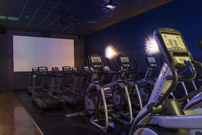 valencia gym cardio theater