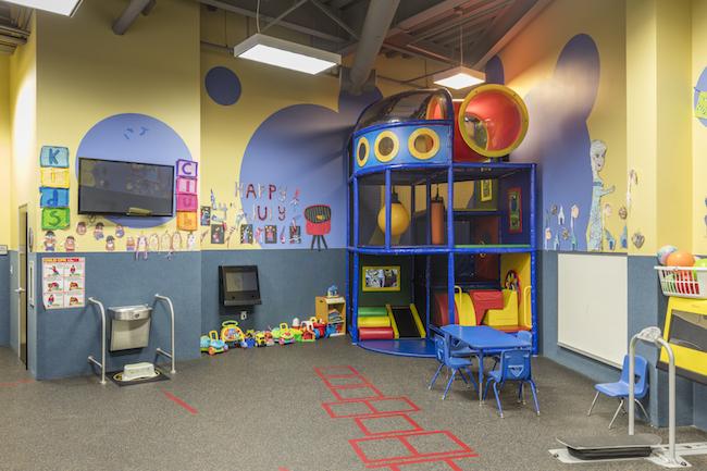 valencia gym childcare area
