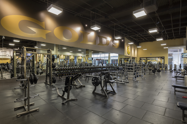 weightlifting area at golds gym west covina