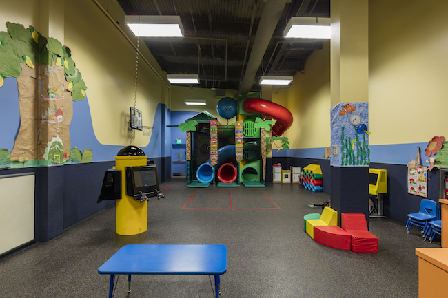 west covina gym childcare area