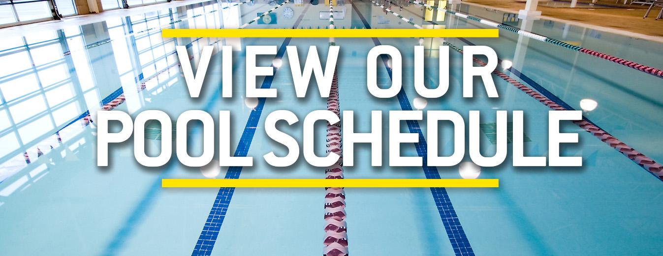 Pool Schedule 2018