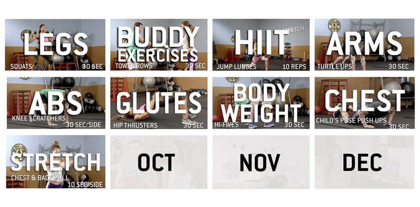 Golds-Gym-myGOLDSFOCUS-Quick-Glance-Advent-Calendar-September