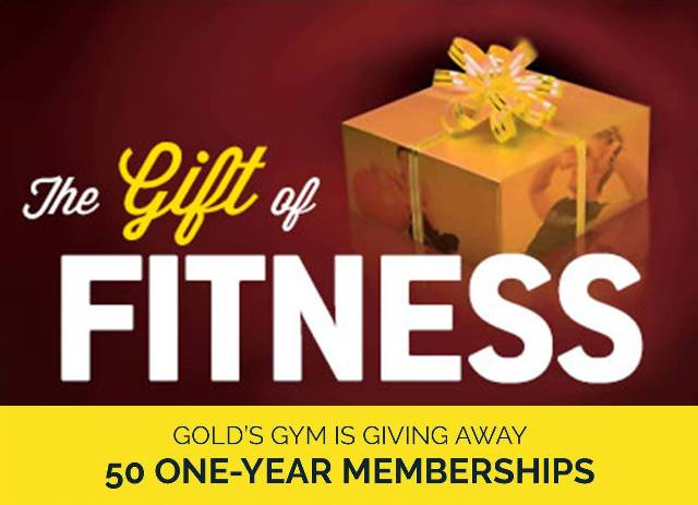 Golds Gym Utah Gift of FItness Image