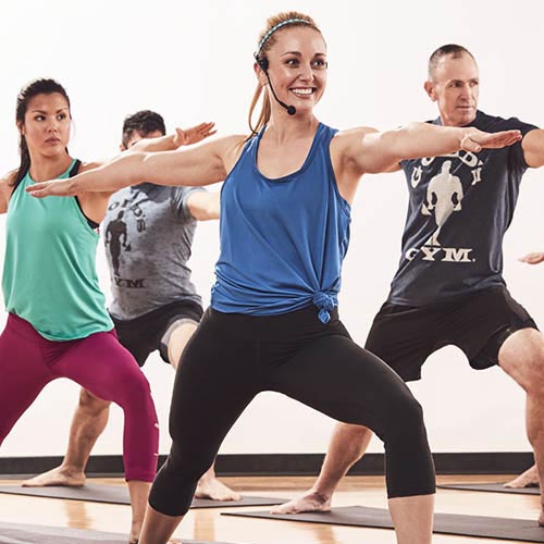 Gold's Gym Group Exercise Gym Class Yoga