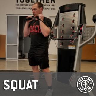 squat-resistance machine