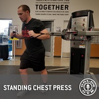 Standing Chest Press