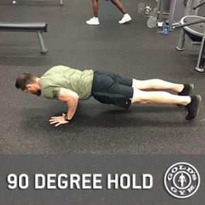 90 Degree Hold Demonstration