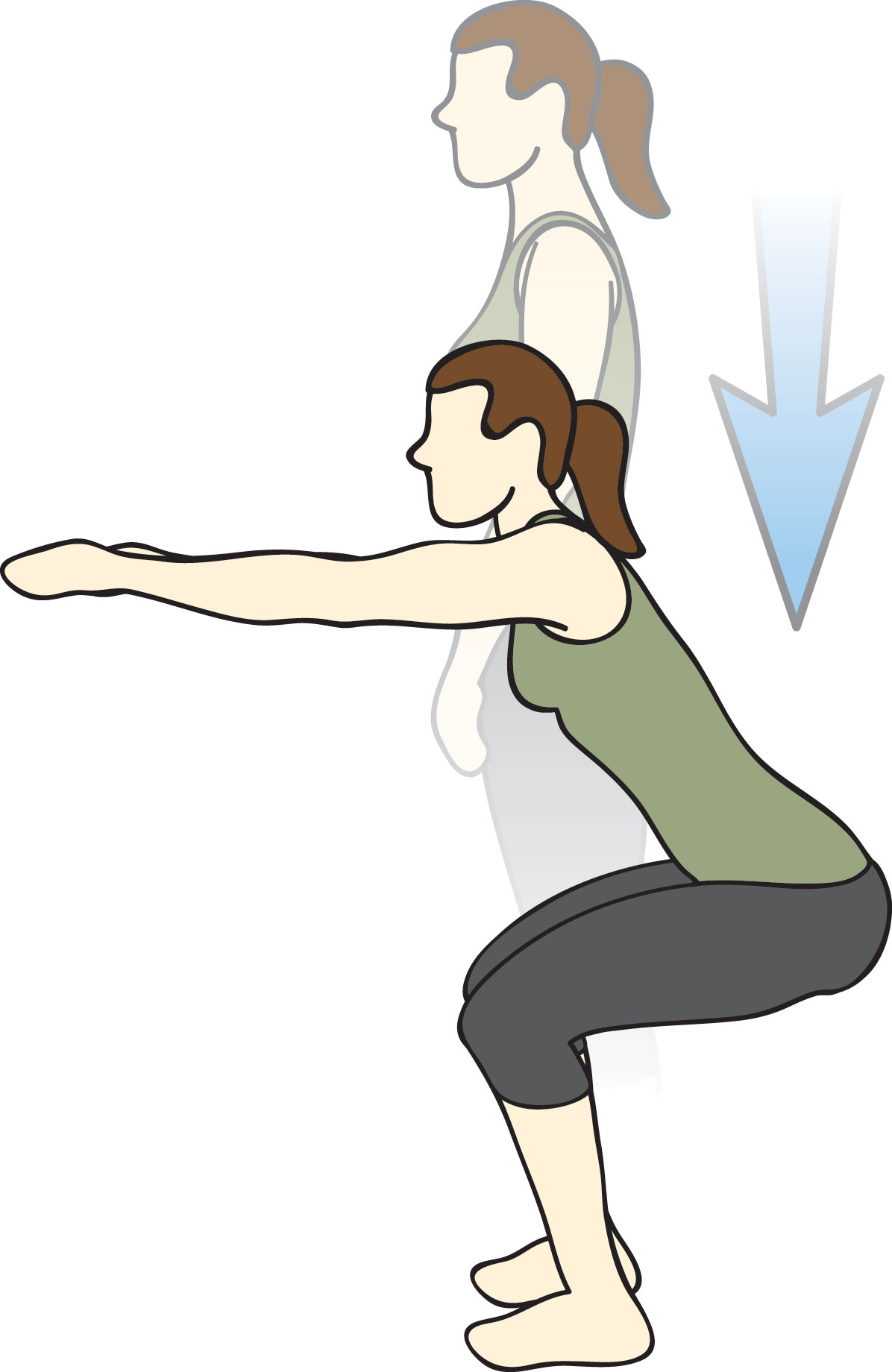 gym-mistakes-air-squats