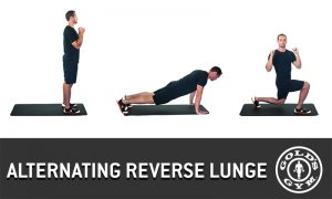 Alternating Reverse Lunge