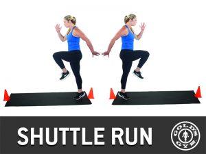 Shuttle Run - Glute Workout