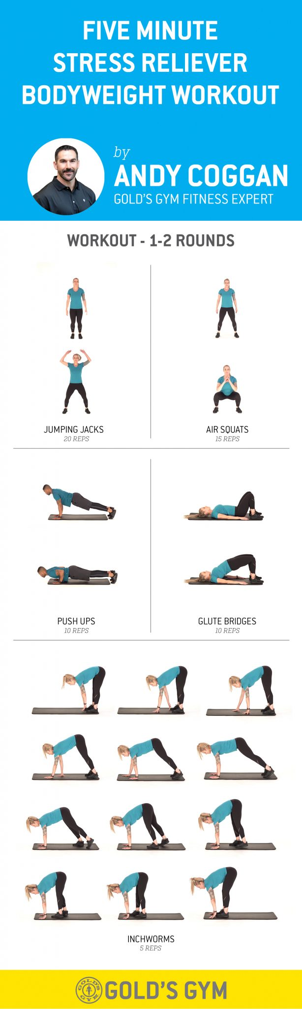 Stress Reliever Full Body Workout