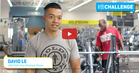 2018 Gold's Gym Challenge Winner: David Le
