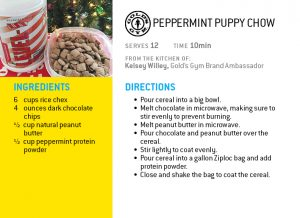 peppermint protein puppy chow holiday recipe