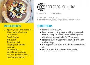 apple doughnuts holiday recipe